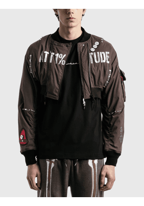 99%IS- Short Ma-tt1%tude Bomber Jacket