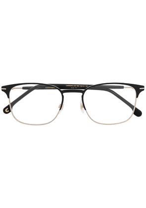 Carrera brushed stainless-steel square glasses - GOLD