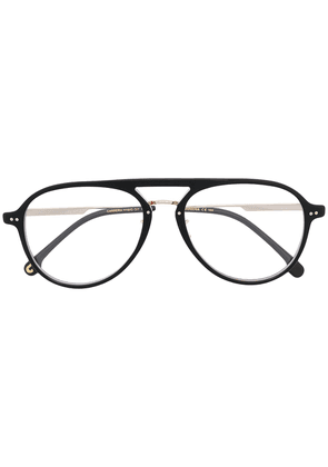 Carrera aviator frame glasses - Black
