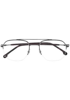 Carrera semi-rimless square glasses - Black