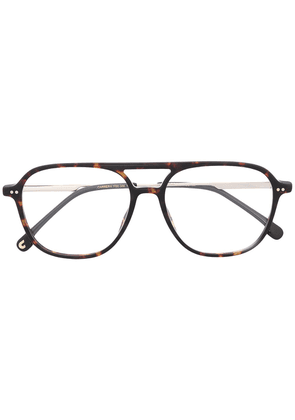 Carrera aviator-style tortoiseshell glasses - Brown