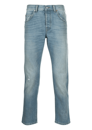 Gucci eco-bleached tapered jeans - Blue