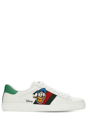 New Ace Donald Duck Patch Sneakers