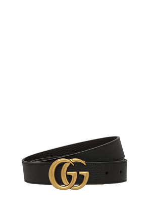 3cm Gg Reversible Leathers Belt