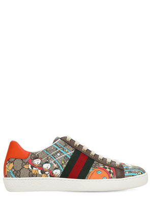 15mm Disney X Gucci Canvas Ace Sneakers