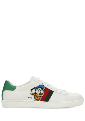 10mm Gucci X Disney Ace Leather Sneakers
