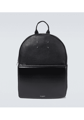 4-Stitches leather backpack