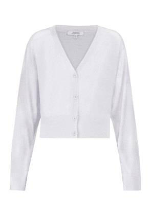 Exclusive to Mytheresa – Open Mind wool and silk cardigan
