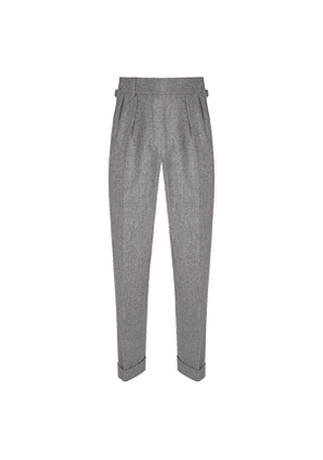 Silver Flannel Sexton House Trousers