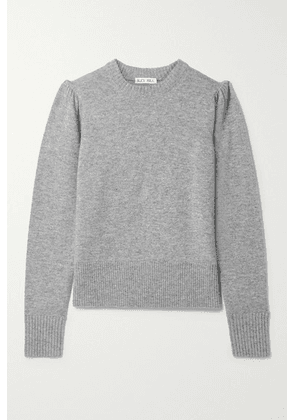 Alex Mill - Claire Merino Wool And Cashmere-blend Sweater - Gray