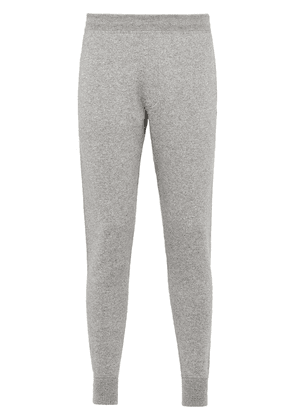 Prada cashmere knitted track pants - Grey