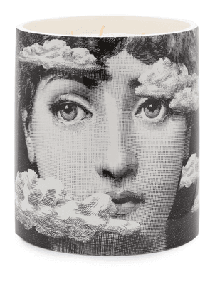 Fornasetti Star Lina Otto scented candle (1.9kg) - Black