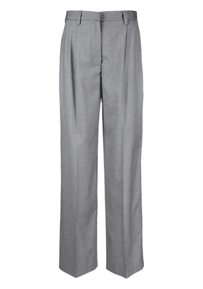 Forte Dei Marmi Couture high-waisted wide-leg tailored trousers - Grey