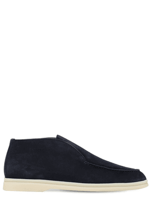 10mm Polacchino Suede Loafers