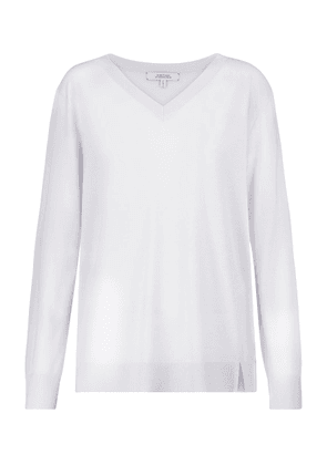 Exclusive to Mytheresa – Open Mind wool and silk sweater