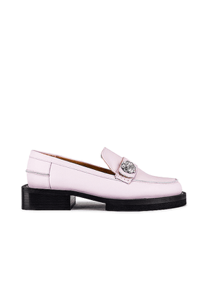 Ganni Jewel Oxford in Pink. Size 37, 38.