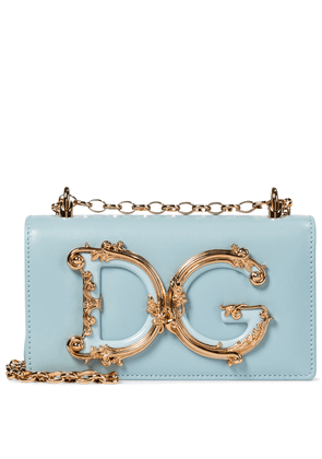 DG Girls leather shoulder bag