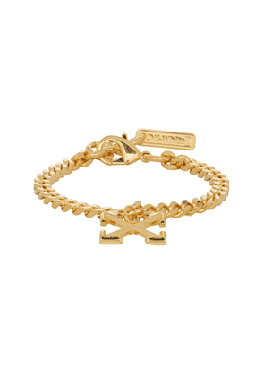 Off-White SSENSE Exclusive Gold Arrow Bracelet