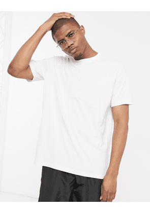 Weekday Frank tee in white