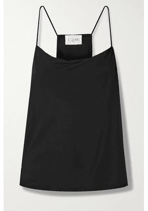 Cami NYC - The Aggie Draped Modal-jersey Camisole - Black