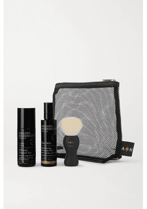 Amanda Harrington - Buff & Bronze Face Set - Natural Honey - Colorless
