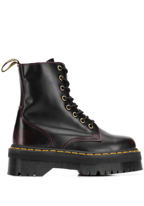 Dr. Martens lace-up ankle boots - Red