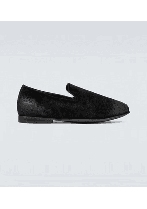Exclusive to Mytheresa - velvet loafers