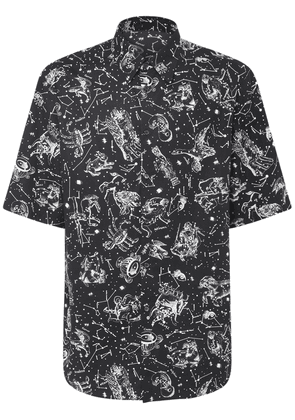 Zodiac Map Cotton Poplin Shirt