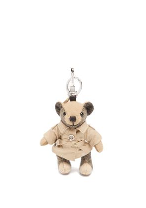 Burberry - Thomas Cashmere Key Ring - Womens - Beige Multi