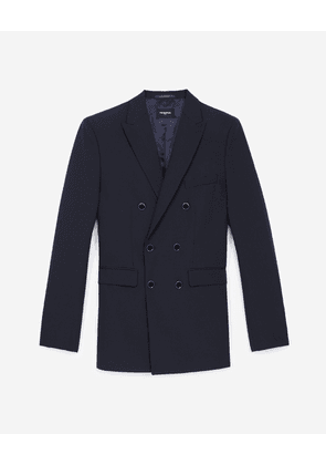 The Kooples - Navy blue wool jacket - MEN