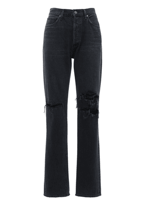 Lana Jean Low Rise Straight Jeans