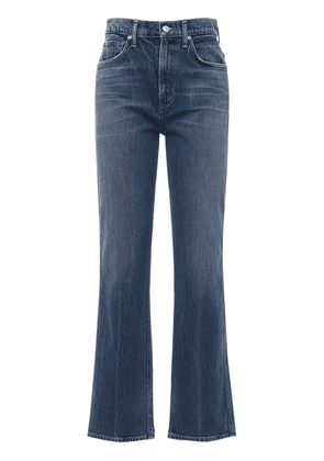 Daphne High Waist Stovepipe Jeans