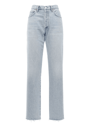 Emery Long Mid Rise Straight Jeans