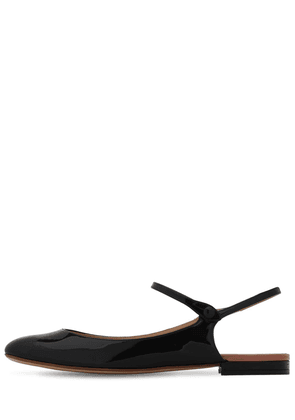 10mm Patent Leather Mary Jane Ballerinas