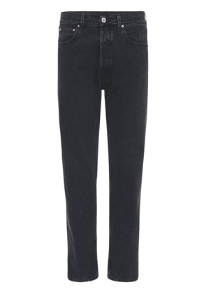 Haute Couture Straight Leg Denim Jeans