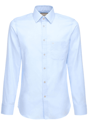 Embroidery Oxford Cotton Shirt