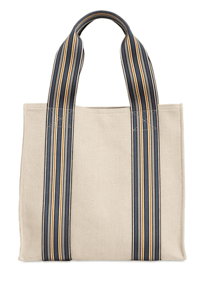 The Suitcase Canvas Tote Bag