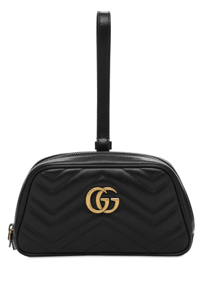 Gg Marmont 2.0 Leather Twist Wallet