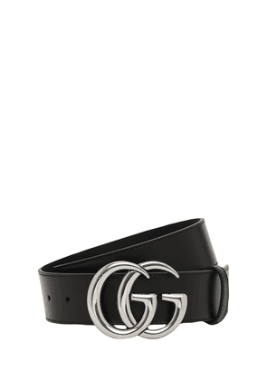 4cm Gg Marmont Leather Belt