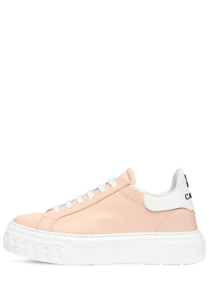 20mm Flore Leather Sneakers