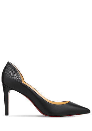 85mm Maastricht Leather Pumps