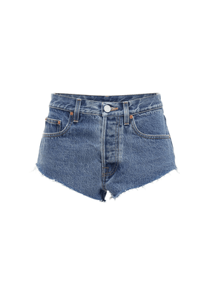 Haute Couture Cotton Denim Hot Pants