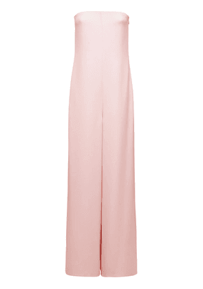 Strapless Silk Cady Couture Jumpsuit
