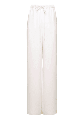 Silk Cady Couture Pants