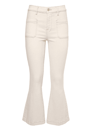 Le Bardot Crop Flared Jeans