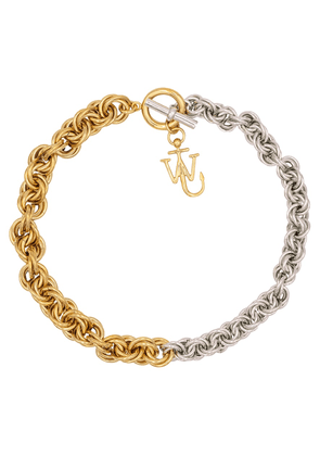 Chain choker necklace