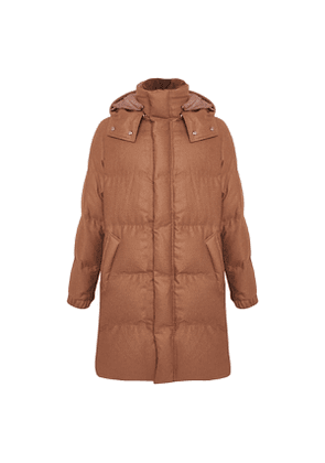 Cocoa Brown Puffer Coat