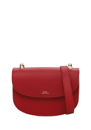 Mini Genève Grained Leather Bag