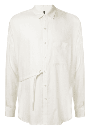 Attachment deconstructed shirt - White