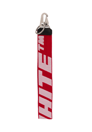 Off-White Industrial key ring - Red